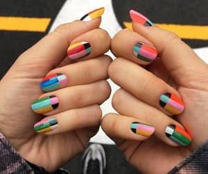 color, nail art, and nail polish image