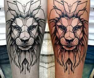 tattoo and geometric tattoo image