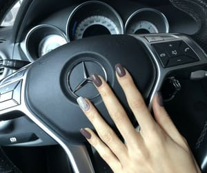 black, car, and nails image