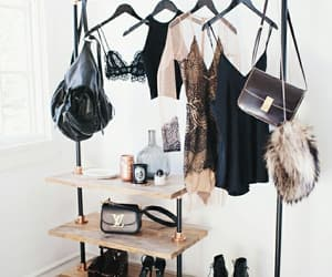 aesthetic, clothing rack, and decor image