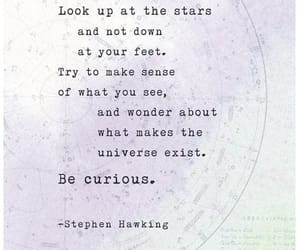 stars, stephen hawking, and quotes image