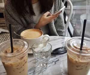 coffee, ice coffee, and tumblr image