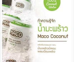 coconut, macococonut, and natural image