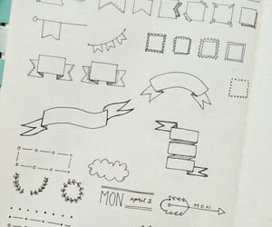 doodle, drawing, and goals image