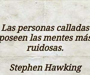 mente, personas, and stephen hawking image