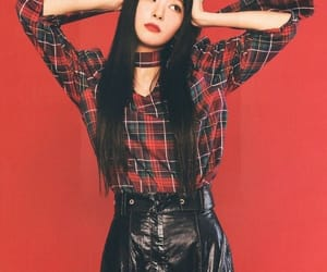 seulgi, kpop, and red image