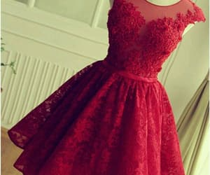dresses, red dress, and little dresses image