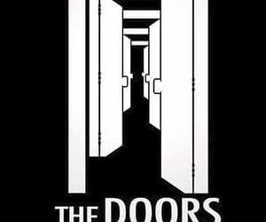 door, doors, and Jim Morrison image