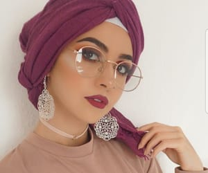 beauty, glasses, and fashion image