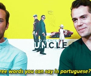 funny, gif, and Henry Cavill image