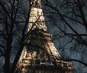eiffel, eiffel tower, and france image