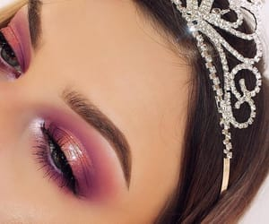 crown, eyeshadow, and goals image