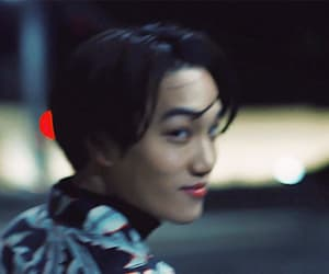 gif, exo, and kai image