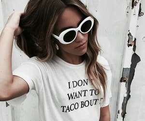 outfit, fashion, and sunglasses image