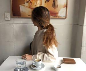 bar, breakfast, and girl image