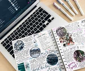 inspiration, journal, and productivity image