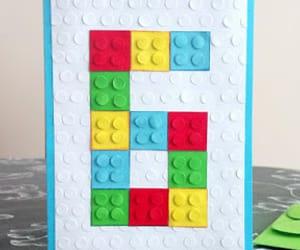 handmade, lego, and kartka image