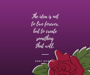 andy, flower, and art image