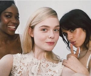 Elle Fanning and camilacabello image