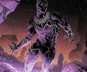 black panther, tchalla, and Marvel image