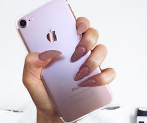 tumblr inspo, nails goals, and iphone tech image