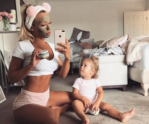 family, kids, and fitness image