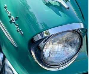turquoise, car, and teal image