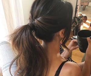 hair, Nina Dobrev, and brunette image