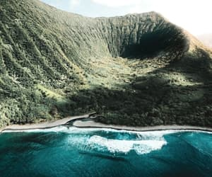 Island, sea, and nature image