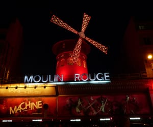 europe, moulin rouge, and paris image