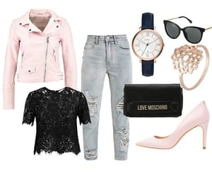 fashion, look of the day, and mama jeans image