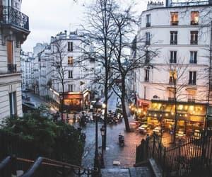 city, light, and paris image