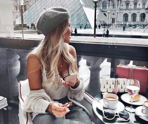 food, girl, and paris image