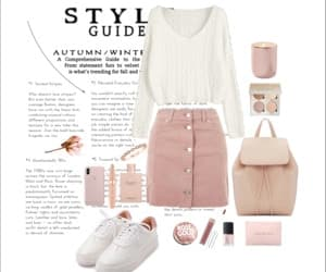 fashion, girl, and rosegold image