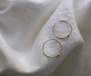 earrings, hoops, and indie image