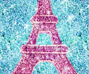 beautiful, pink, and torre eiffel image