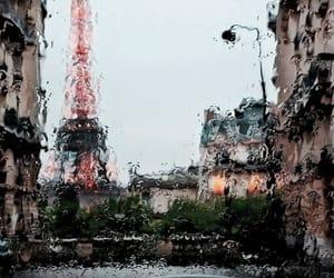 paris and rain image