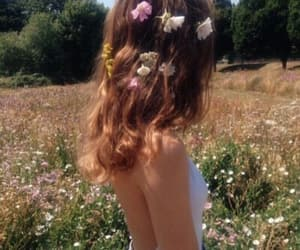 90s, flowers, and girl image