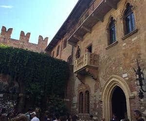 balcony, juliet, and verona image