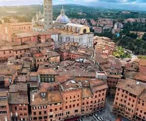 italy, siena, and travel image