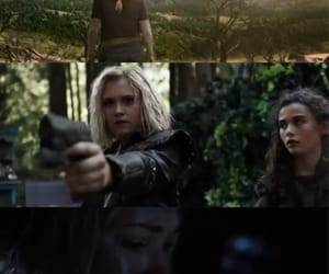 clarke, the 100, and clarke griffin image