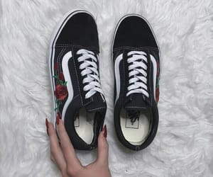 rose, shoes, and style image