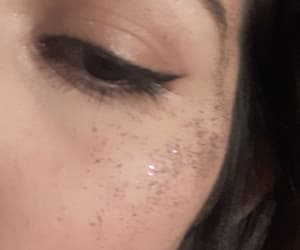 girl, glitter, and nice image