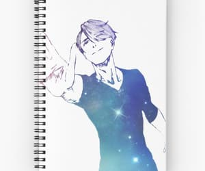 ice, notebook, and yuri on ice image