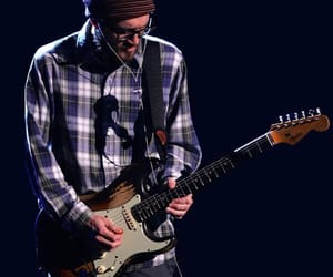 beanie, fender, and guitars image