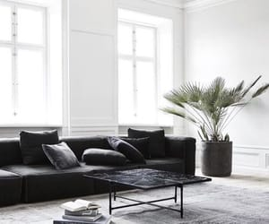 interior, home, and black image
