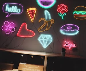 aesthetic, food, and lights image