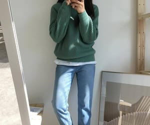 casual, korean fashion, and outfit image