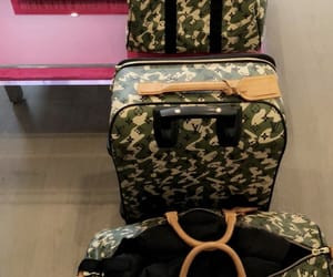 bags, designer, and luggage image