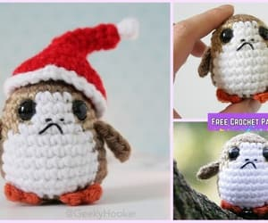 crochet and star war toys image
